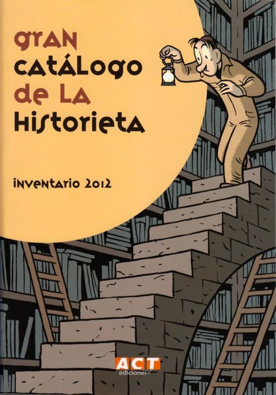 Gran catálogo de la historieta, Inventario 2012