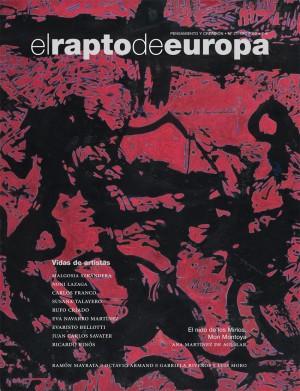 El Rapto de Europa nº 21. Vidas de artistas