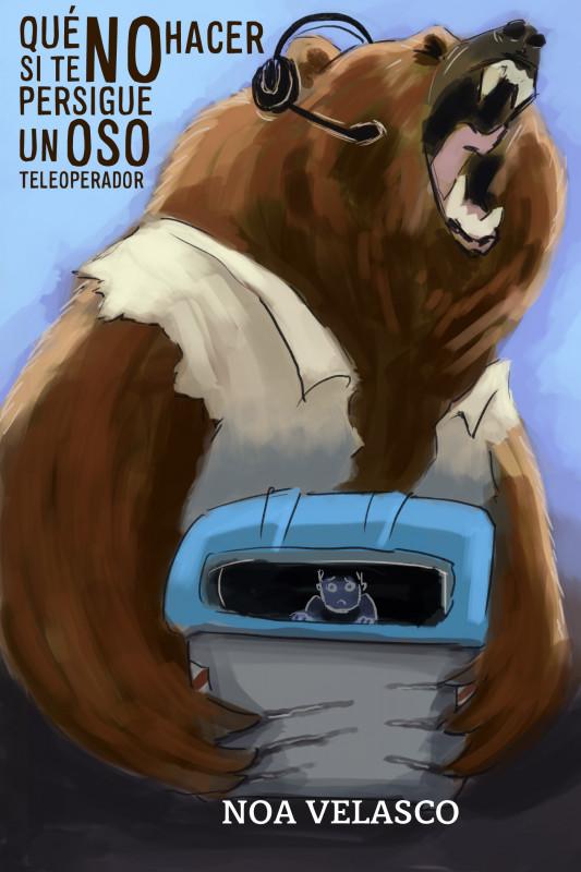 Qué NO hacer si te persigue un oso teleoperador