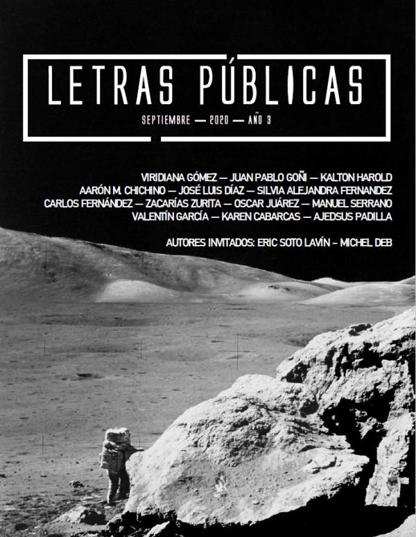 Fanzine Letras Públicas N° 4. Septiembre 2020
