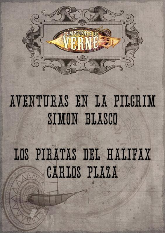 Aventuras en la Pilgrim / Los piratas del Halifax
