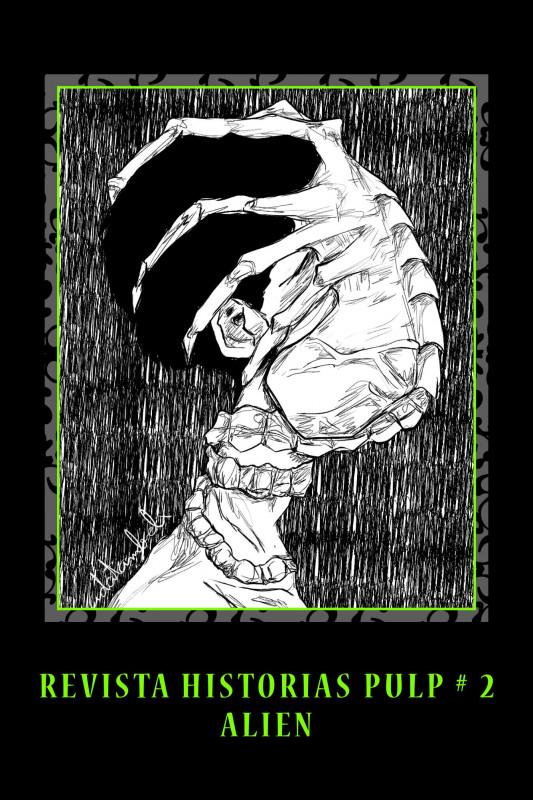Revista Historias Pulp #2 Alien