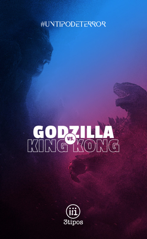 #UnTipoDeTerror | Godzilla vs. King Kong