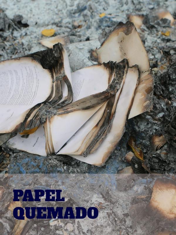 Papel quemado