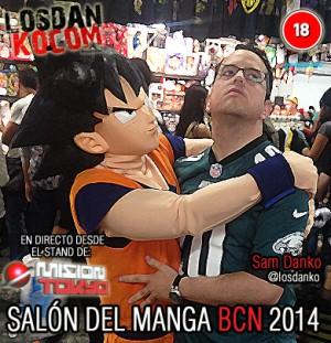 Salón del Manga de Barcelona 2014 (en Directo)