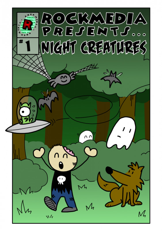 Rockmedia presents... Night Creatures