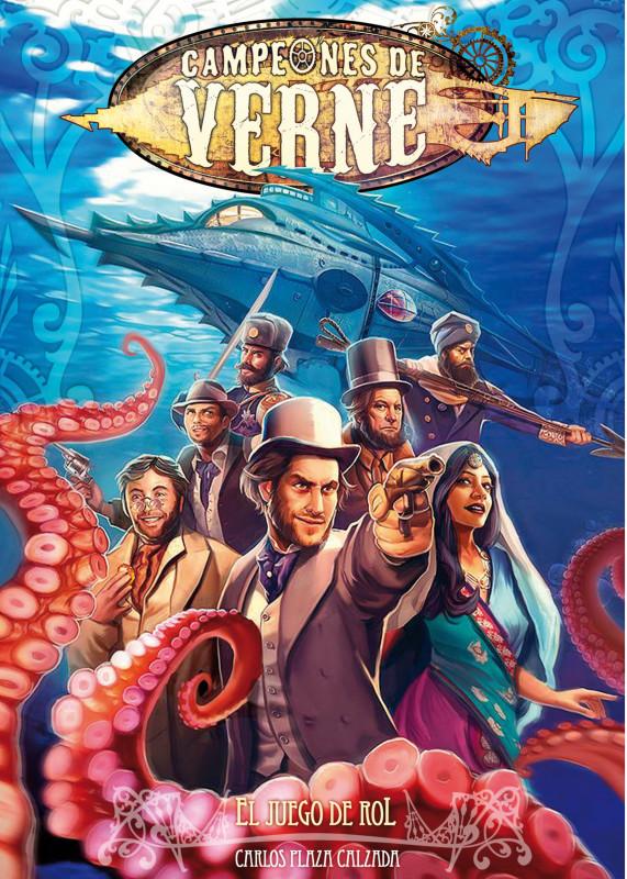 Hojas de personajes en Din A4 para Campeones de Verne