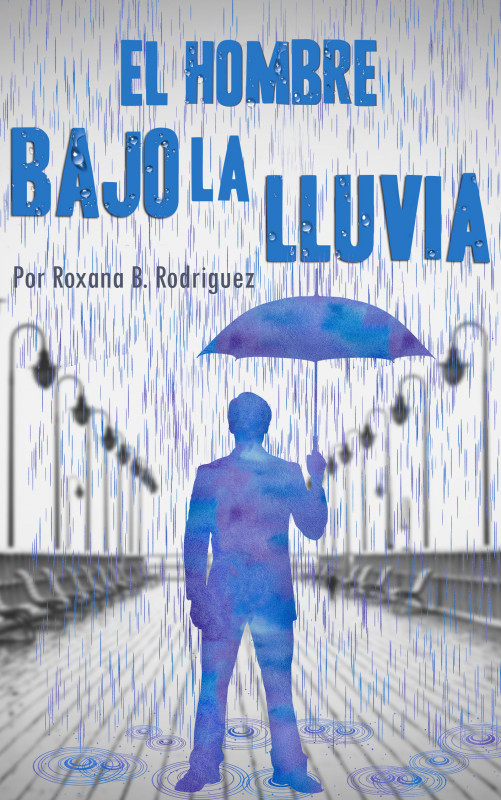 El hombre bajo la lluvia