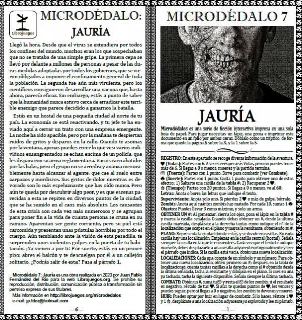 Microdédalo 7: Jauría