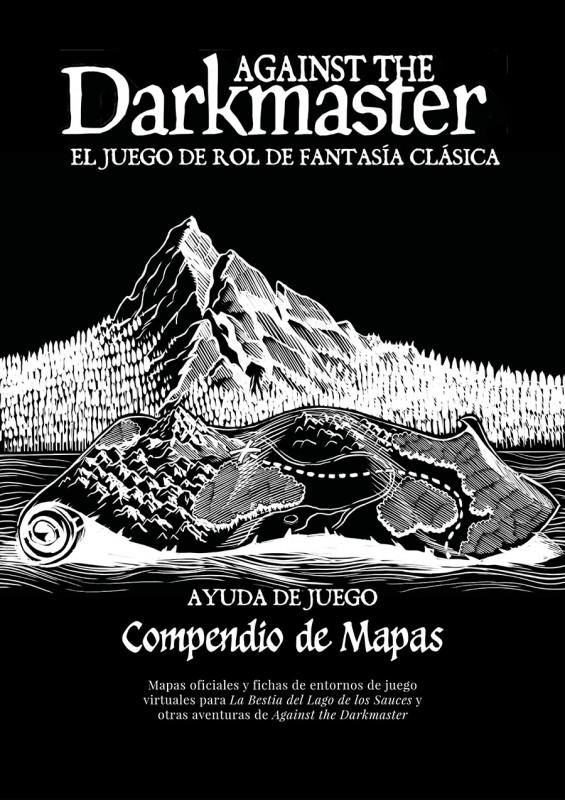 Compendio de mapas de La Bestia del Lago de los Sauces