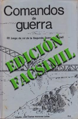 Comandos de Guerra 1ª Edición - Facsimil