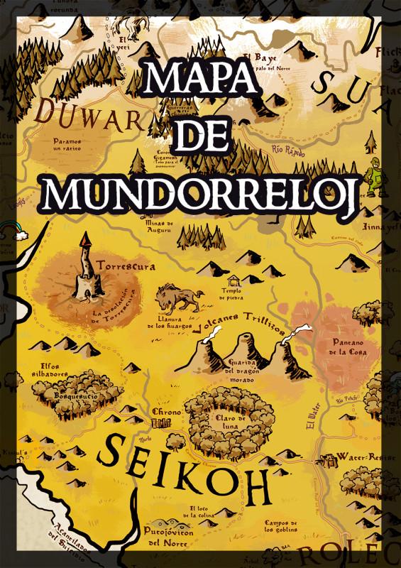 Mapa de Mundorreloj
