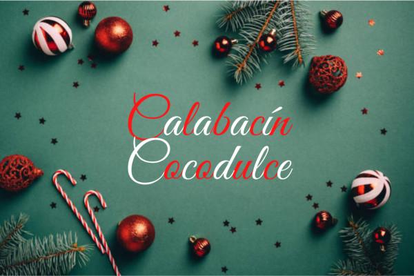 Calabacín Cocodulce