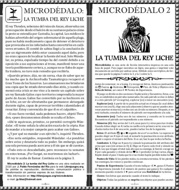 Microdédalo 2: La tumba del Rey Liche