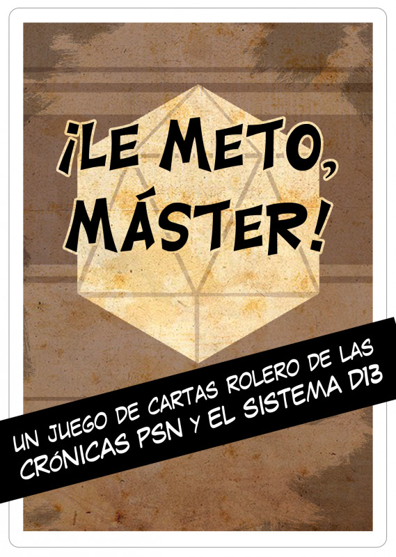 ¡LE METO, MÁSTER! - Juego PRINT&PLAY
