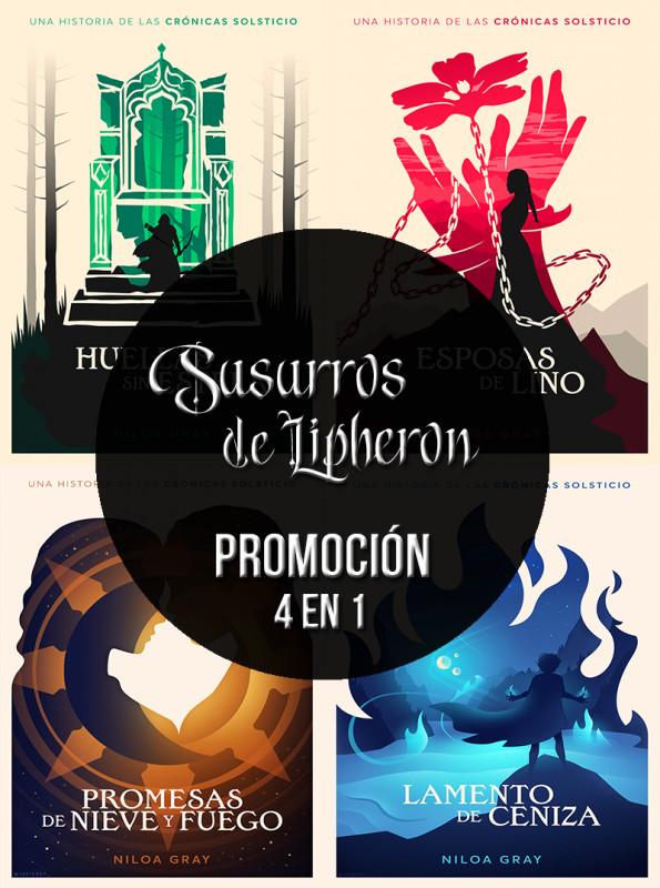 Promoción Susurros de Lipheron [4 en 1]