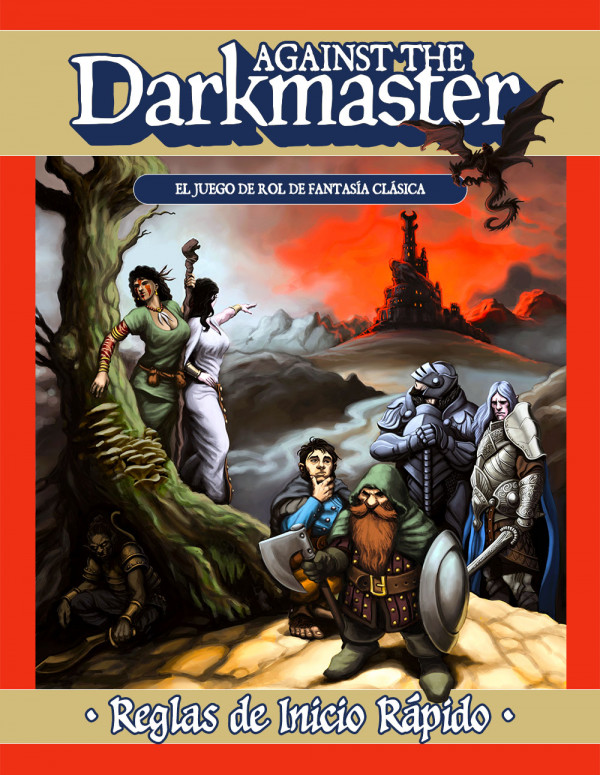 Against the Darkmaster - Reglas de Inicio Rápido