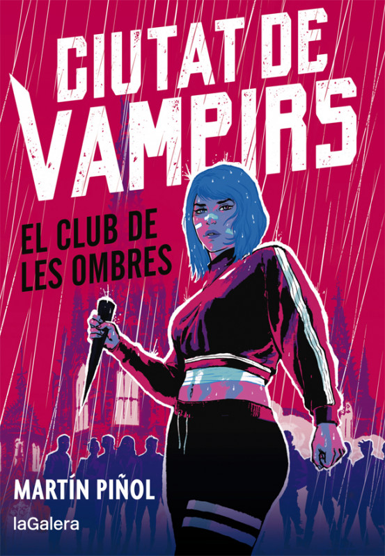 [PREVENDA] Ciutat de vampirs 1. El club de les ombres, de Martín Piñol. Signat per l'autor.
