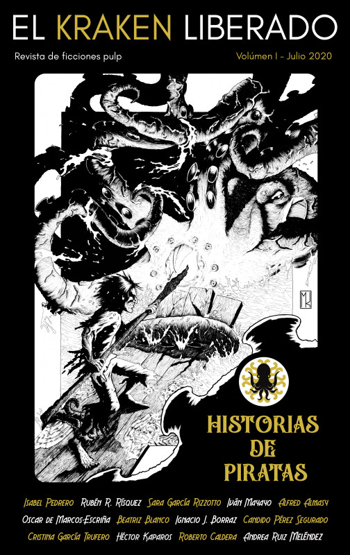 El kraken liberado volúmen I : Historias de piratas