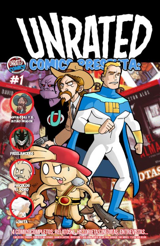Unrated Comics Presenta