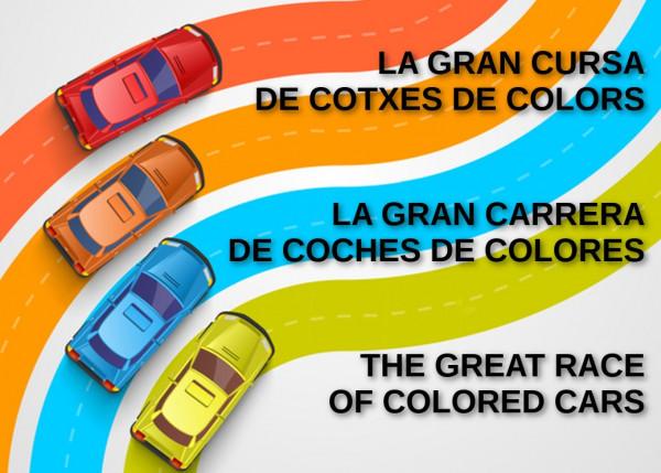 La Gran Cursa de cotxes de colors