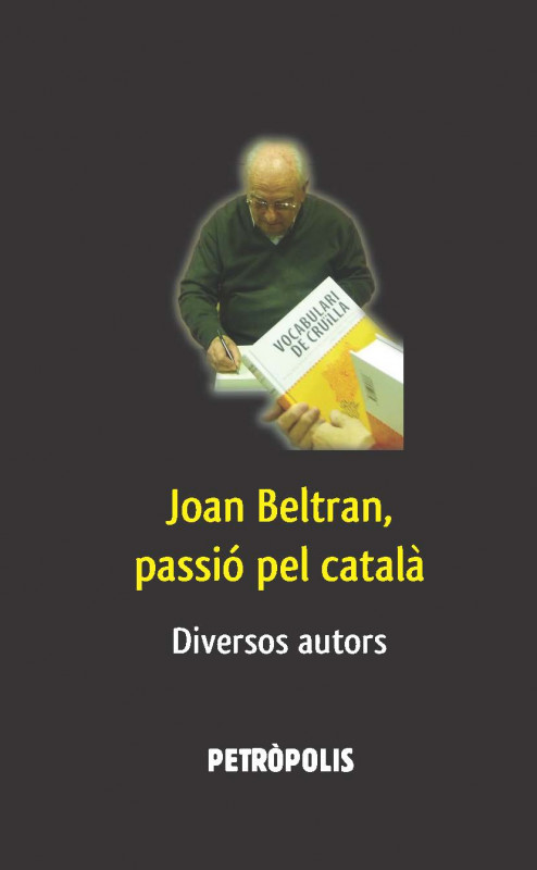 Joan Beltran, passió pel català