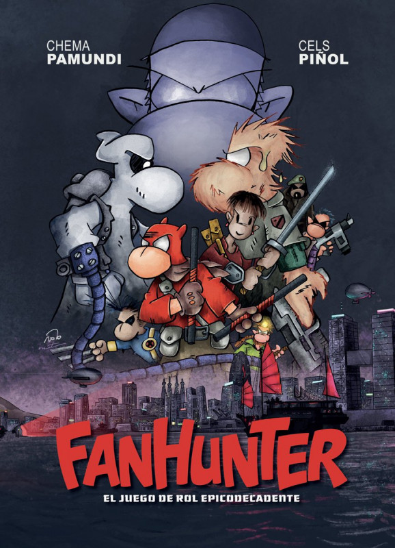 Fanhunter: El juego de rol