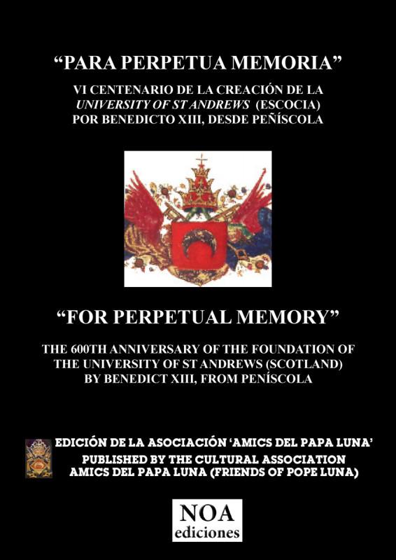 Para perpetua Memoria / For Perpetual Memory