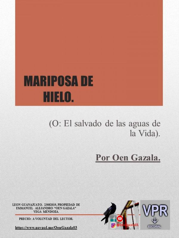 Mariposa de Hielo - Capitulo 2.