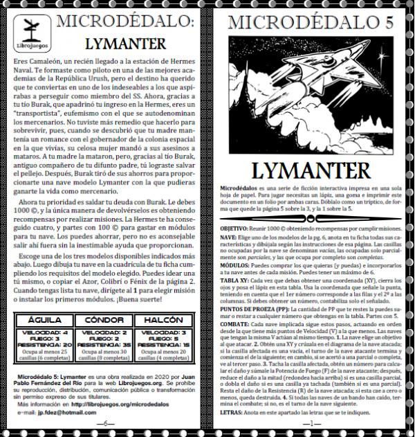 Microdédalo 5: Lymanter